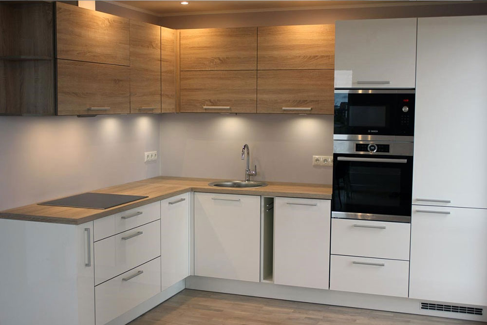 Бело деревяная кухня белая кухня с деревом фото 8, 8, Белая кухня из дерева Белая кухня из дерева на заказ
