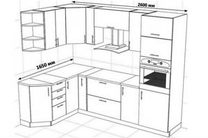 мебели iloft2, 1, Белая кухня с черным фартуком белая кухня с черным фартуком