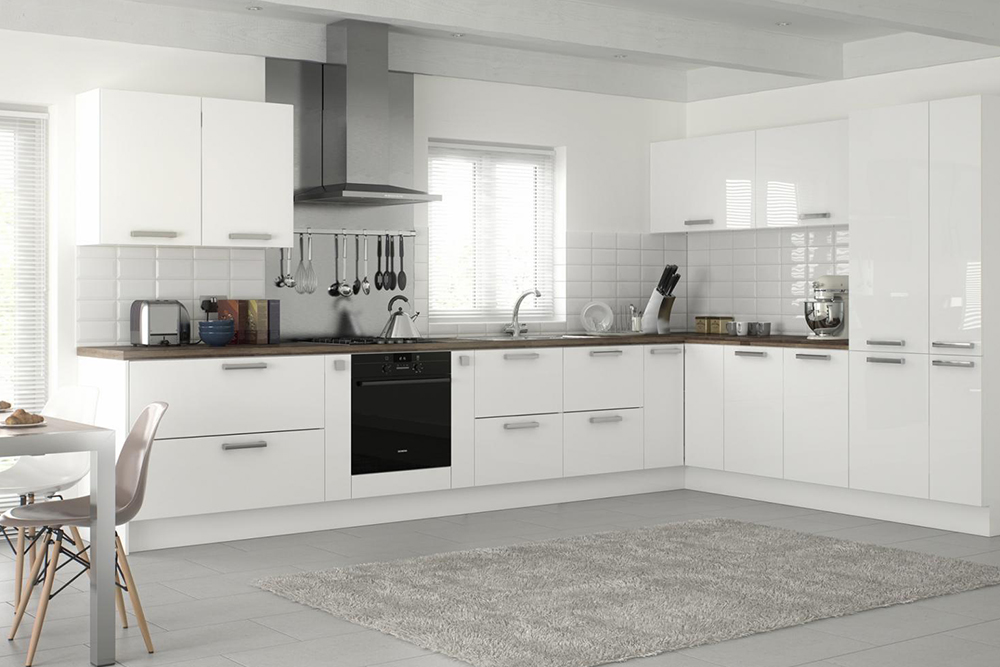 белая кухня дизайн фото