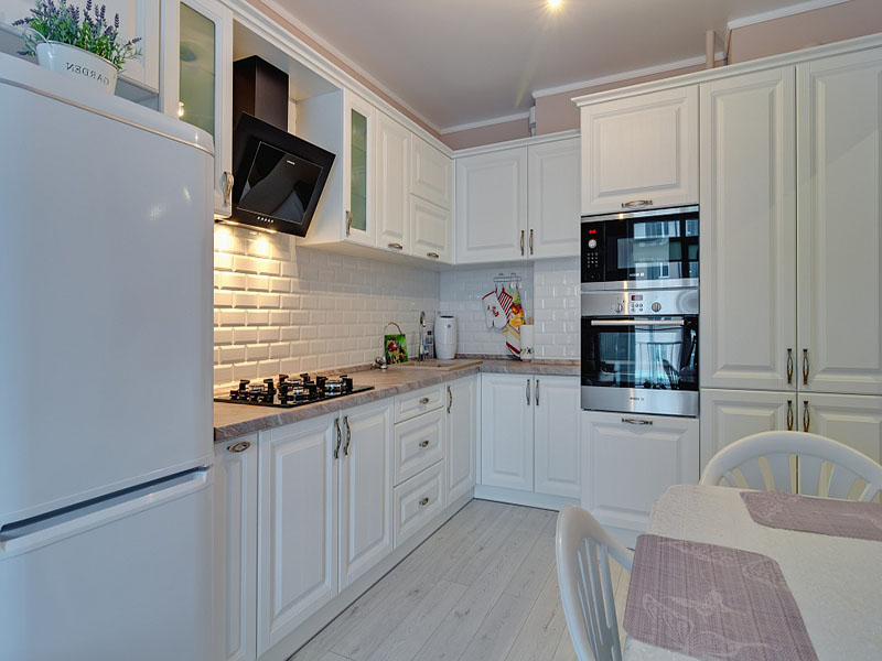 Белая кухня классика на заказ Киев