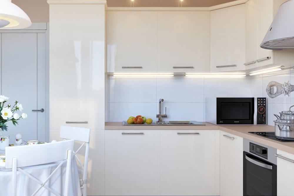 купить белую кухню недорого