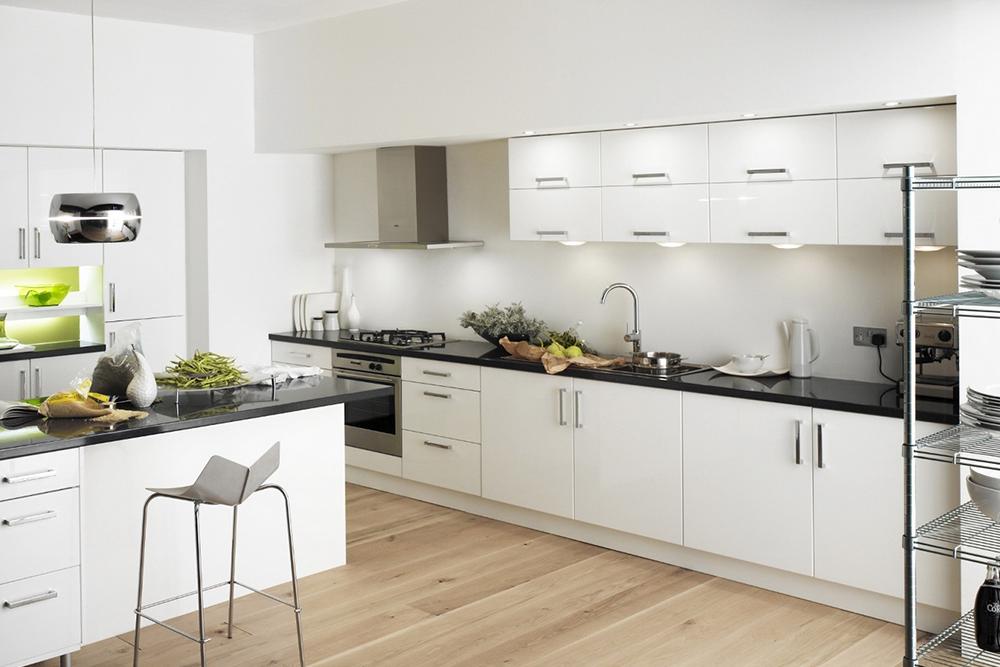 белую кухню, 4, Белые кухни белая кухня