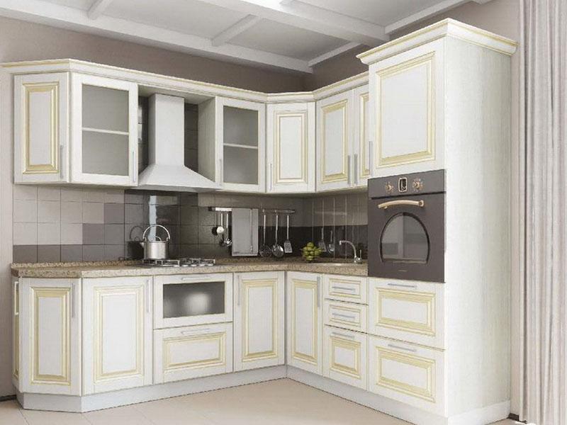 Кухня белая классика Киев заказать