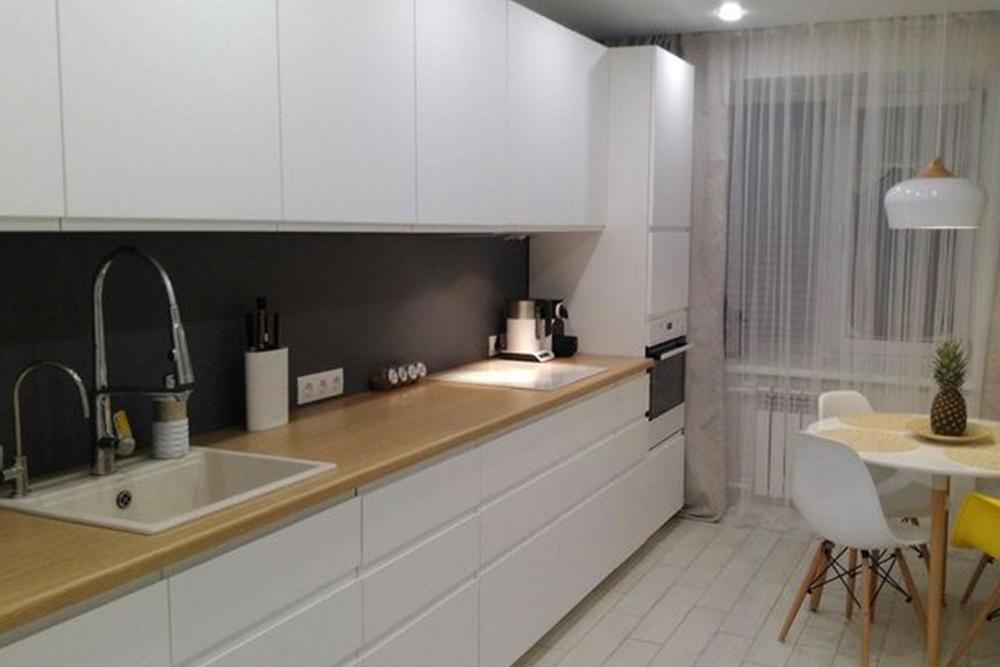 белого цвета в интерьере, 1, Белые кухни белая кухня