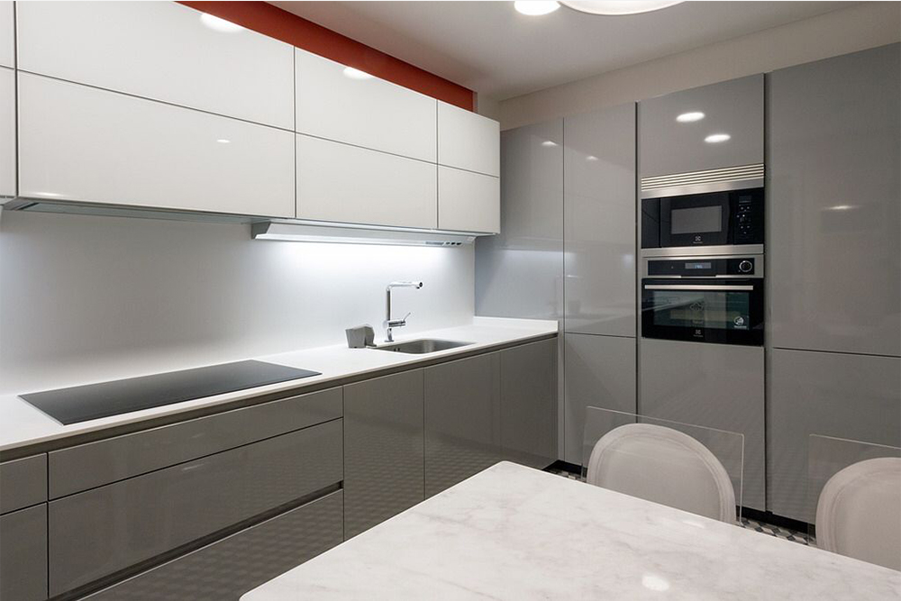 фото кухни в белом стиле