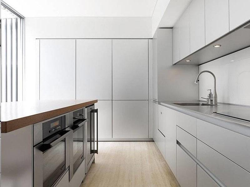 белая кухня минимализм под заказ