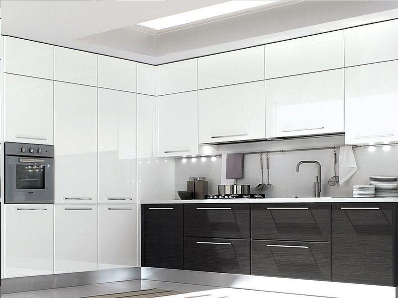 белая кухня модерн на заказ