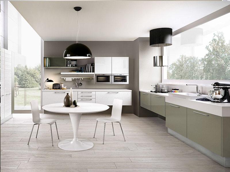 белая кухня модерн под заказ