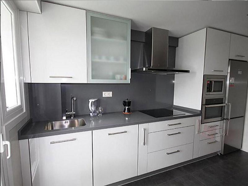 белая матовая кухня под заказ