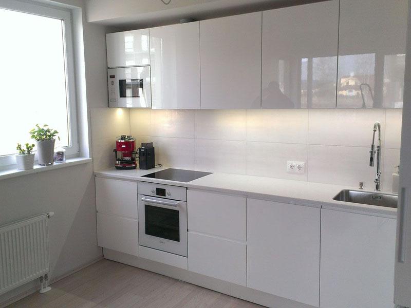 belye glyancevye kuhni, 11, Белая глянцевая кухня белая глянцевая кухня