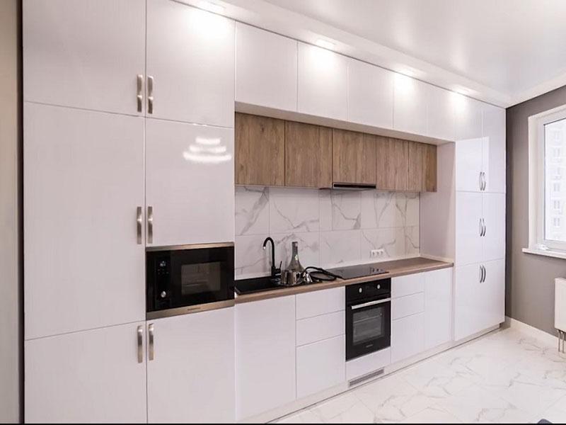 dizayn beloy glyancevoy kuhni, 10, Белая глянцевая кухня белая глянцевая кухня