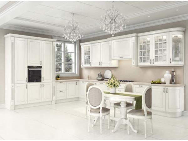 Дизайн белой кухни прованс