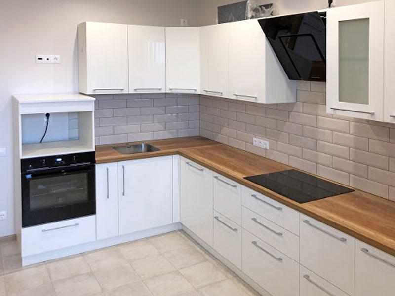 kuhni belye glyancevye dizayn, 9, Белая глянцевая кухня белая глянцевая кухня