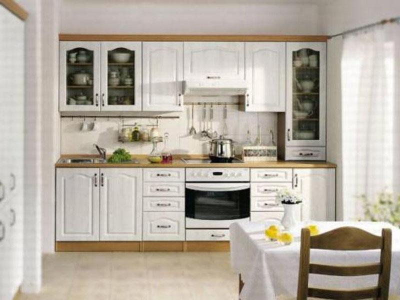 Кухня белая в скандинавском стиле