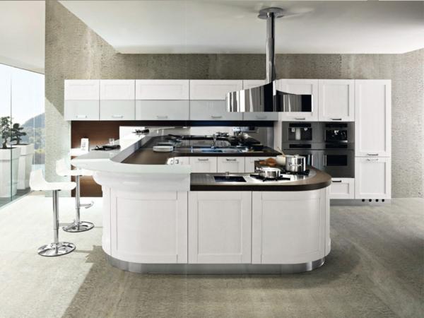 кухня в белой гамме модерн