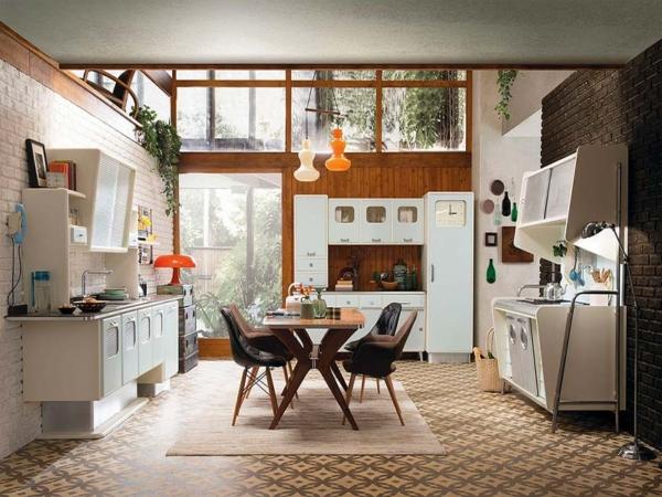 кухня в ретро стиле
