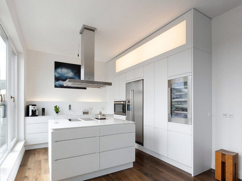 кухонная мебель в стиле минимализм