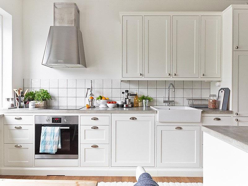 Варианты скандинавских кухонь
